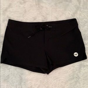 Black Roxy Swim Trunks M